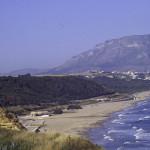 Spiaggia ovest veduta dall'alto