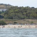 Spiaggia ovest vista dal mare